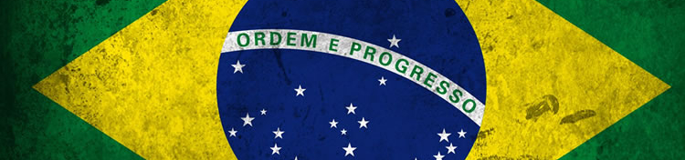La imagen muestra la bandera nacional de Brasil.