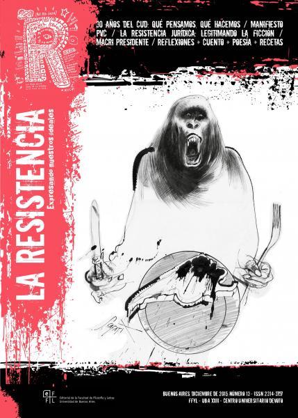 Portada de la Edición Número 13 de la Revista La Resistencia