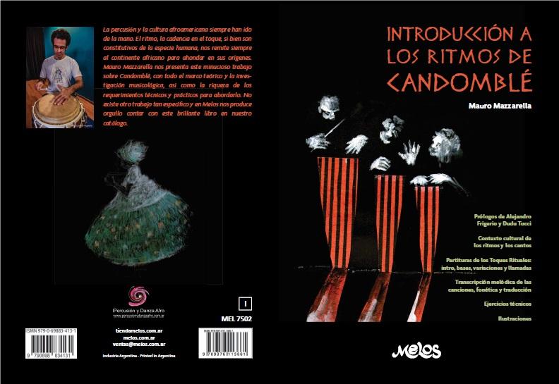 Imagen muestra la portada del libro Introducción a los ritmos del Candomblé.