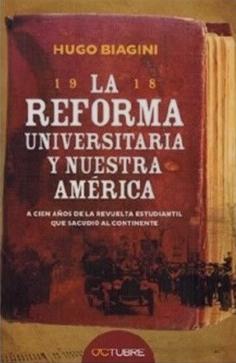La imagen muestra la portada del libro de Hugo Biagini.