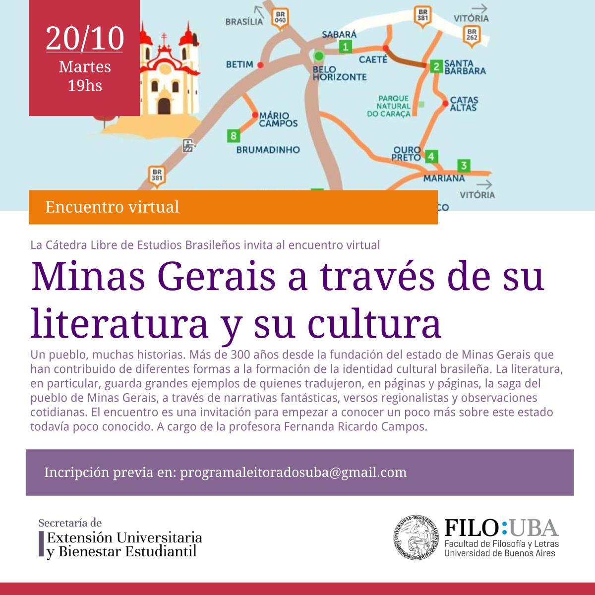 La imagen muestra el flyer del evento.