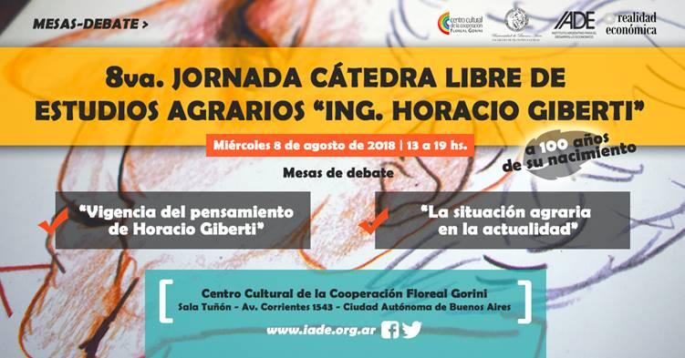 La imagen muestra el flyer de difusión de la Jornada.