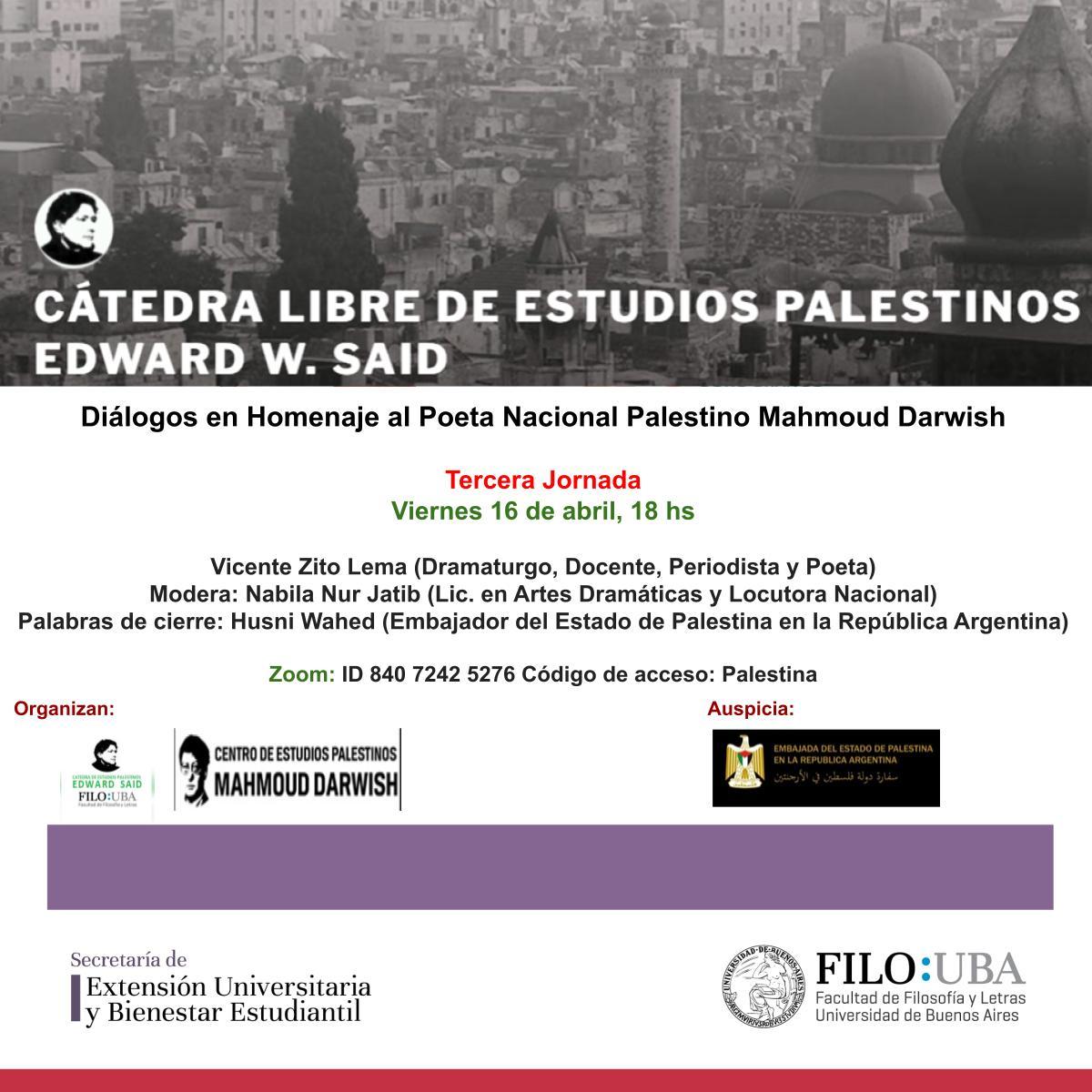 Flyer del evento.